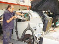 Car spot welding