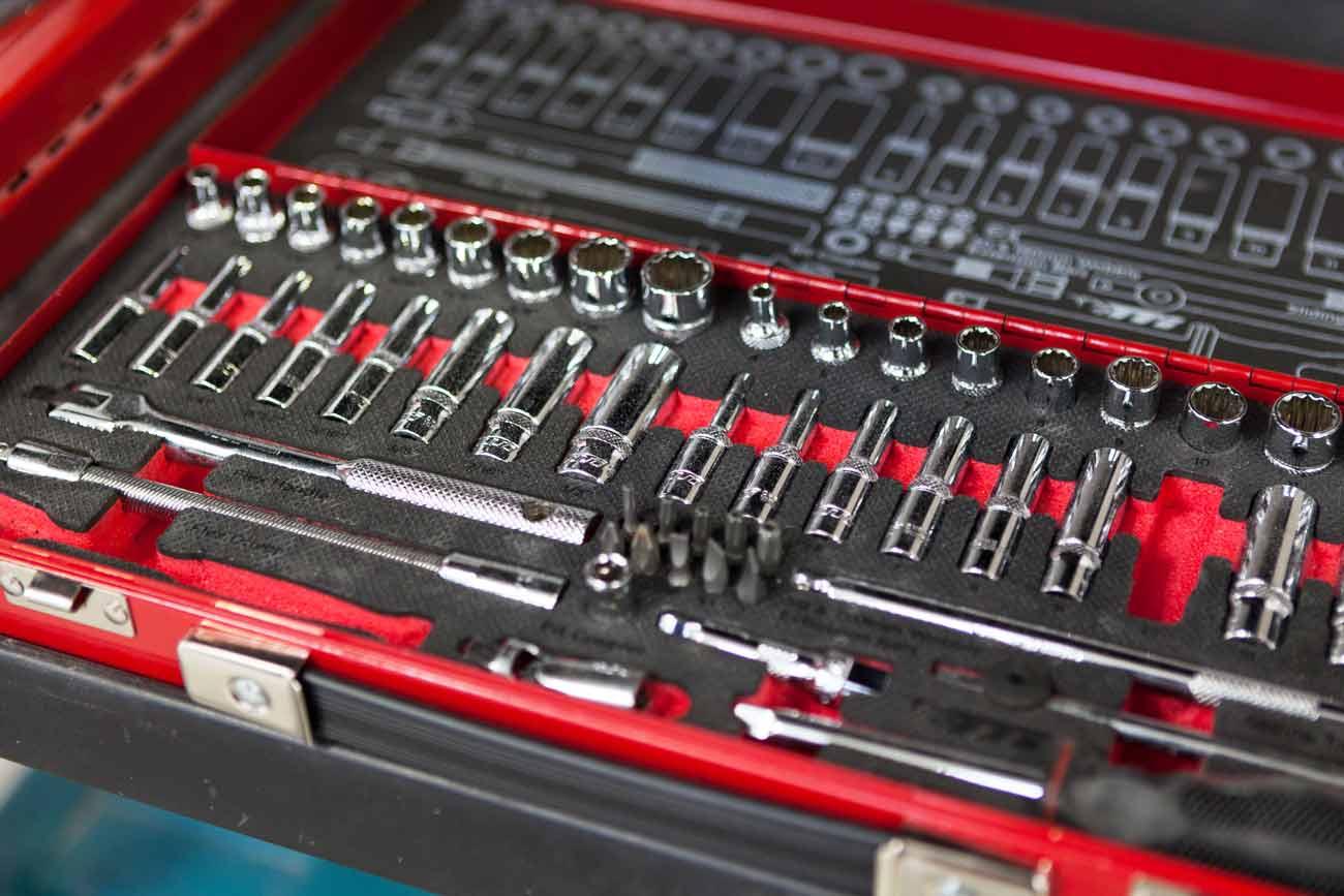 Car scratch tool box