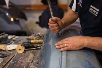 Paintless dent repair process