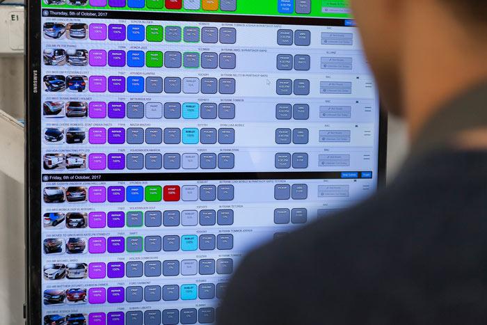 Panel beater software technology