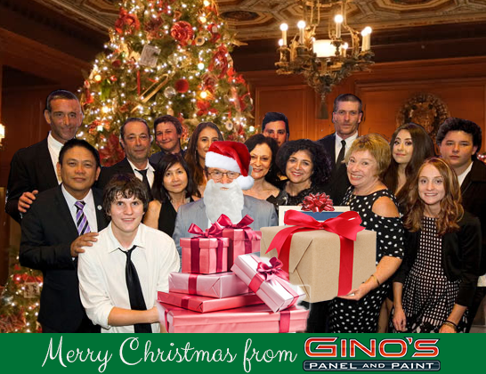 Gino's Christmas Message