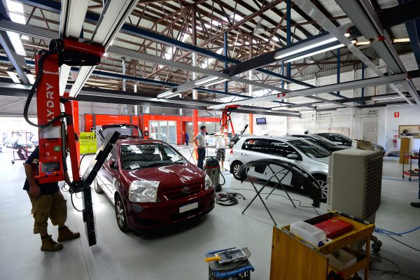 Ginos Insurance Approved Panel Paint Repair Workshop