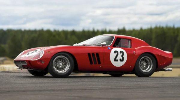 1962 Ferrari 250 GTO: US$48.4M