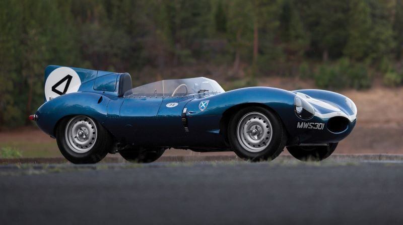 1955 Jaguar D-Type: US$21.78M