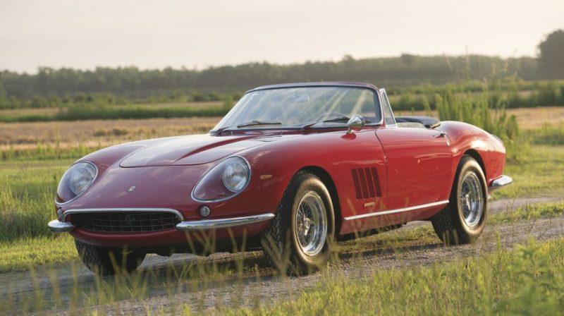 1967 Ferrari 275 GTB/4*S NART Spider: US$27.5M