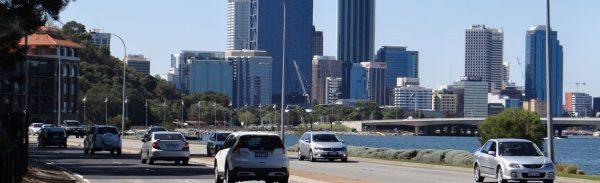 Perth Mounts Bay Road Skyline