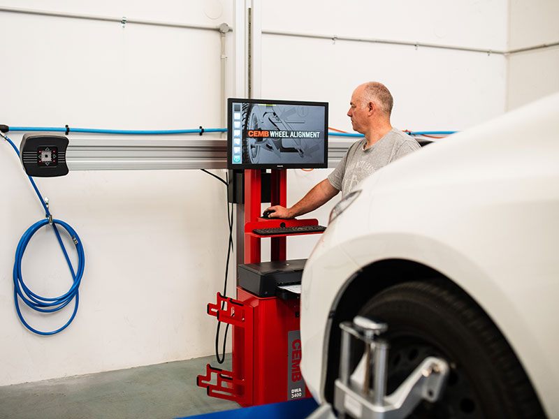 Tyre Repair & Wheel Alignment Service | Gino's Panel & Paint Fremantle