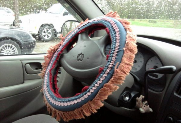 steering wheel covers Perth worst car accessories
