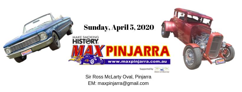 MAX Pinjarra event poster