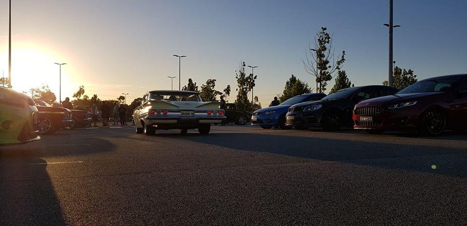 octane autoshow 2020 car park
