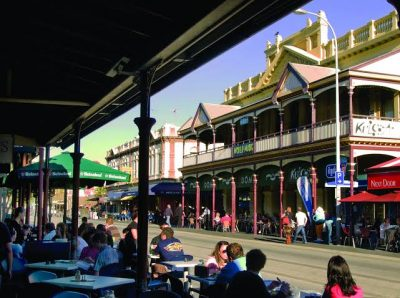 The Cappuccino Strip in Fremantle