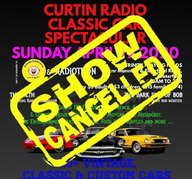 curtin radio classic car