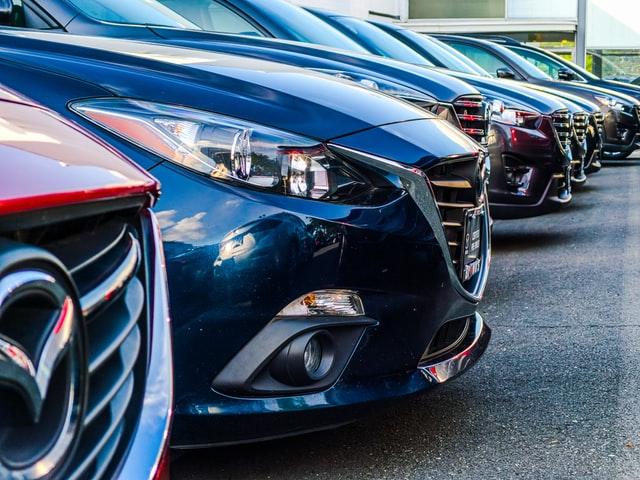 cars in car yard
