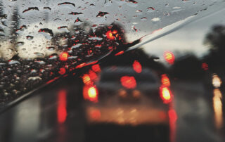 safe driving in Perth wet weather