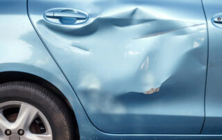 Accidents - when to drive or tow